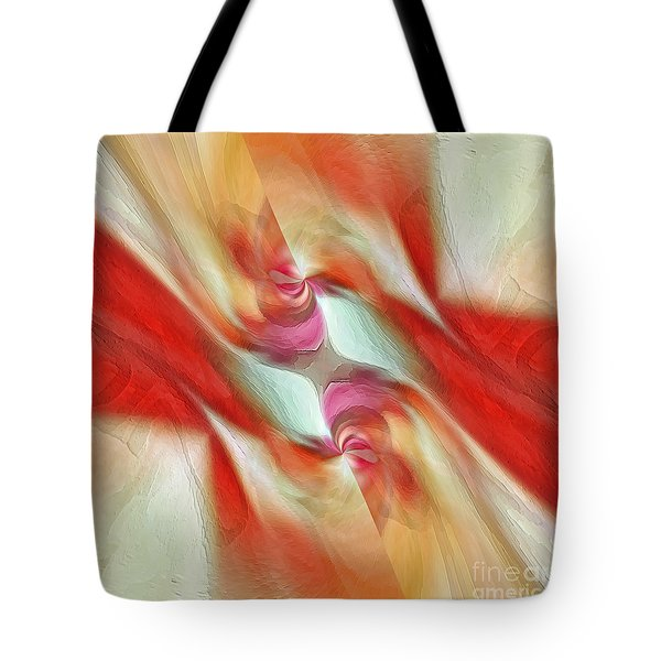Tote Bag featuring the digital art Comfort by Margie Chapman