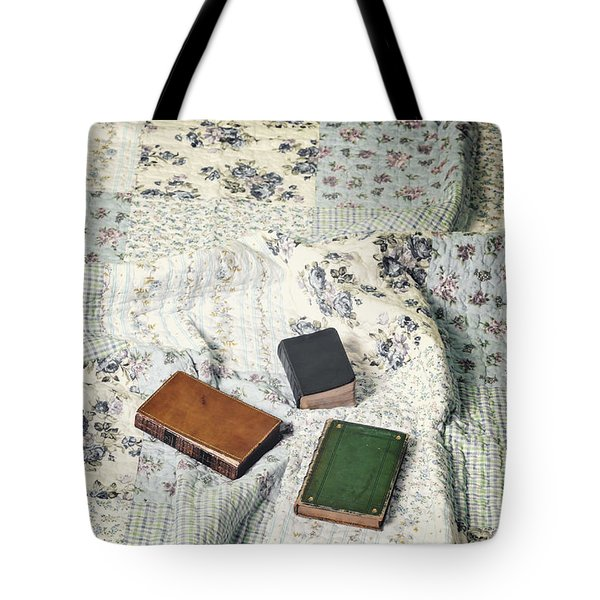 Comfy Reading Time Tote Bag by Joana Kruse