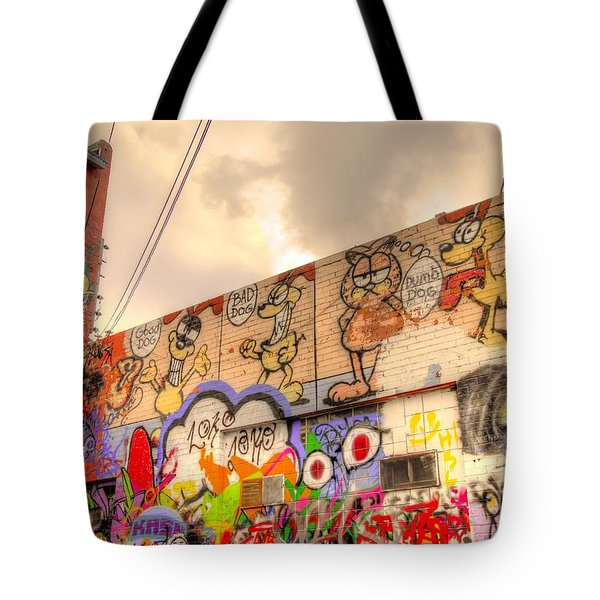 Comical Relief Tote Bag