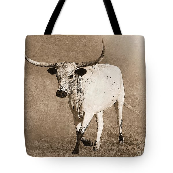 Coming Home In Sepia Tote Bag by Betty LaRue