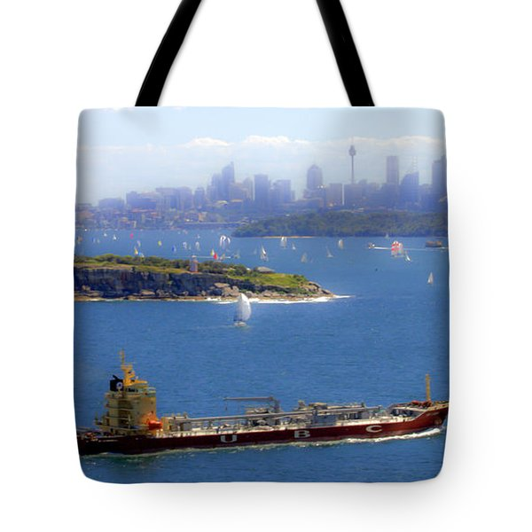 Tote Bag featuring the photograph Coming In by Miroslava Jurcik