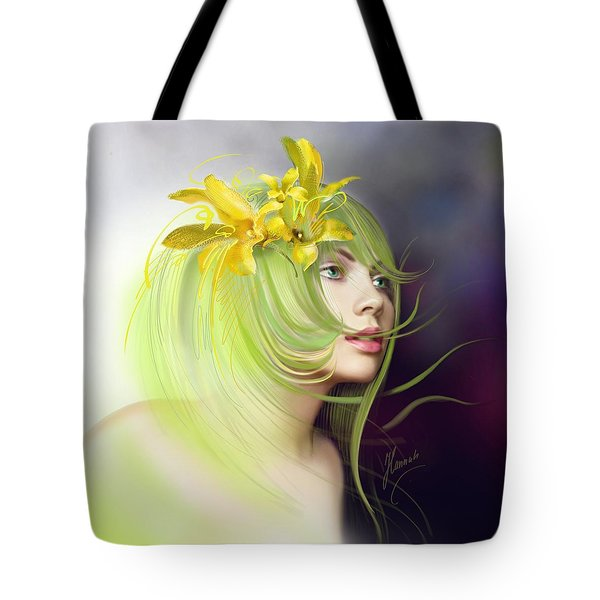 Coming Of Spring Tote Bag