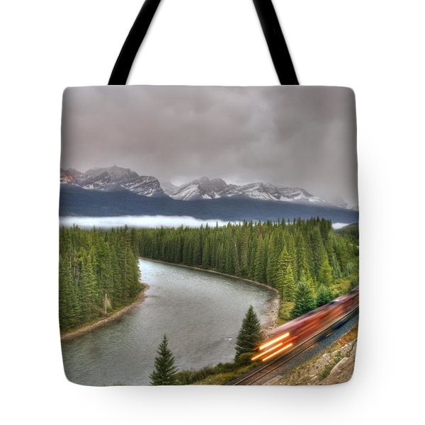 Coming 'round The Bend' Tote Bag