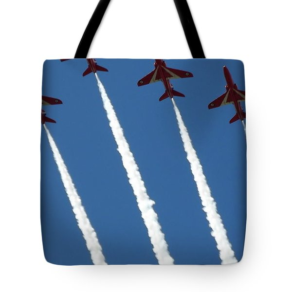 Coming To  Land Tote Bag by Tracey Williams
