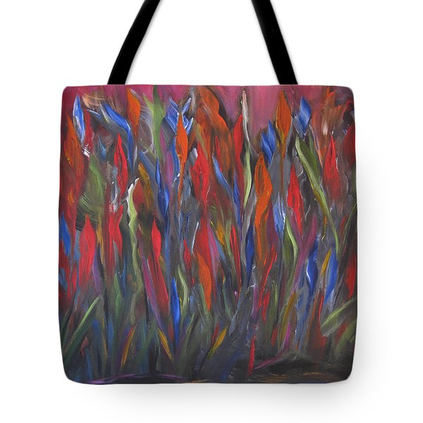 Coming Up Color Tote Bag