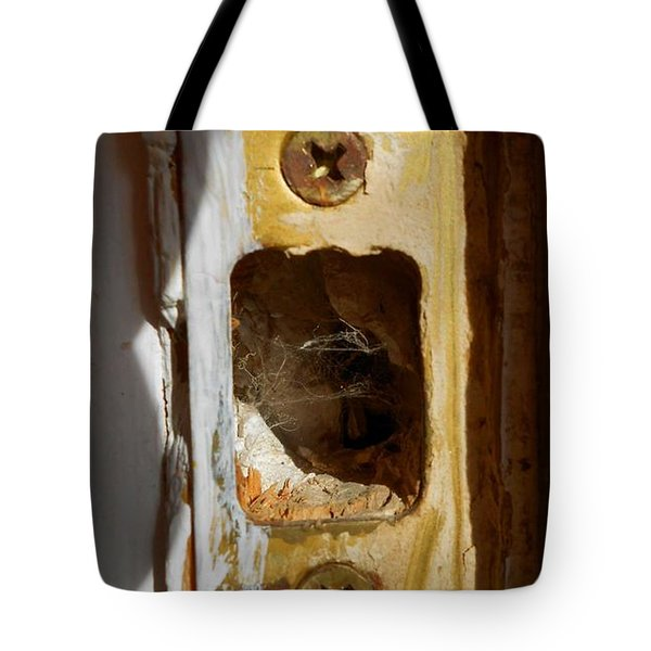 Tote Bag featuring the digital art Comings And Goings by Aliceann Carlton