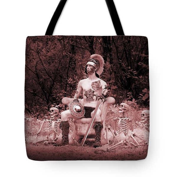 Commander On The Killing Fields Tote Bag