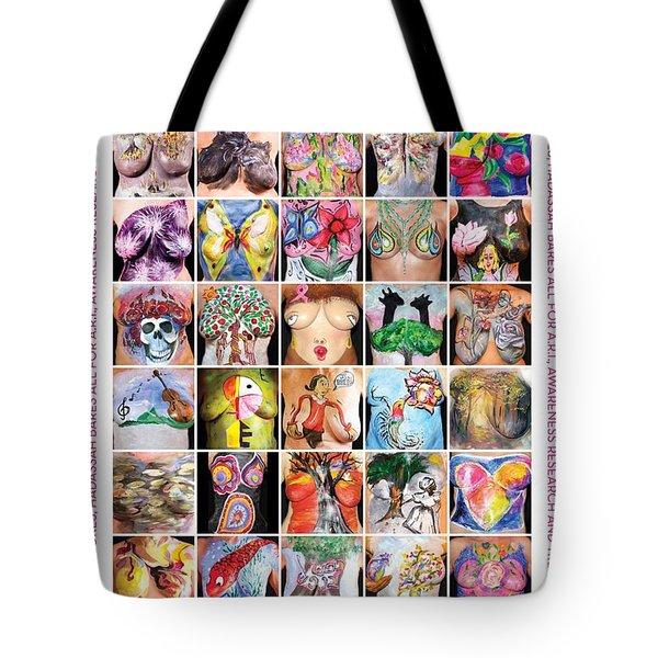 2015 Commemorative Breast Strokes Poster Tote Bag
