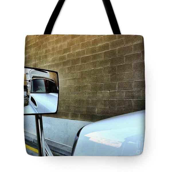 Commercial Truck Tote Bag