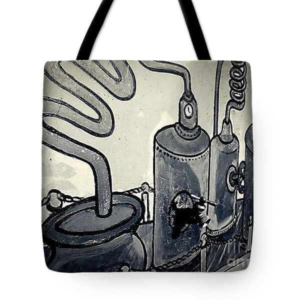 Commercial Wall Tote Bag