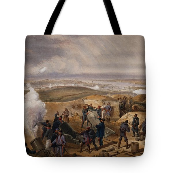 Commissariat Difficulties, Plate Tote Bag