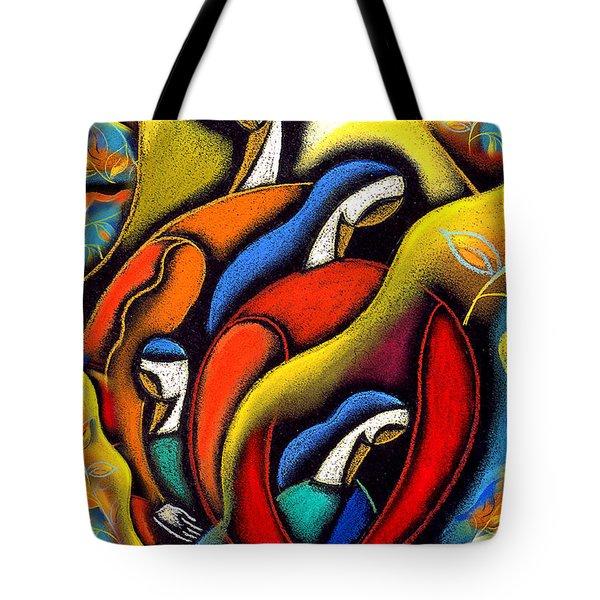 Commitment Tote Bag by Leon Zernitsky