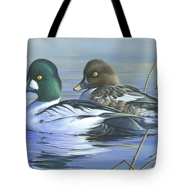 Common Goldeneye Tote Bag