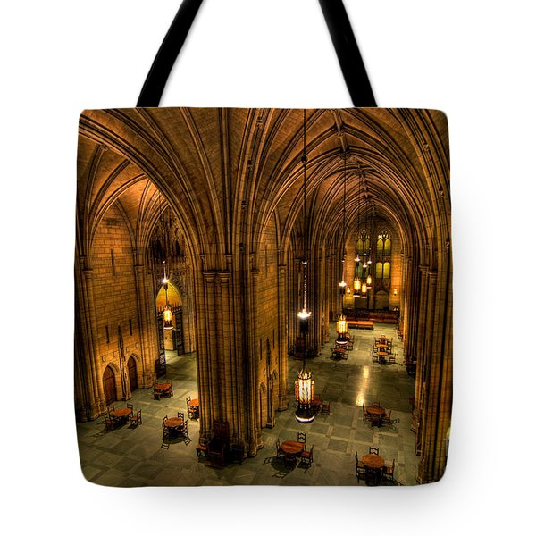 Commons Room Cathedral Of Learning University Of Pittsburgh Tote Bag