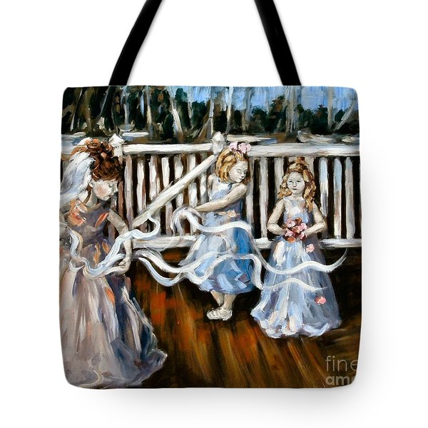 Communion Tote Bag by Carrie Joy Byrnes