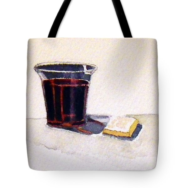 Communion Tote Bag by Katherine Miller