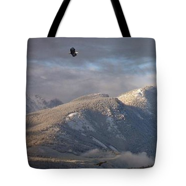 Como Peaks Montana Tote Bag