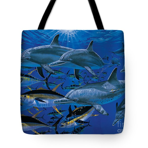 Companions Off00117 Tote Bag by Carey Chen