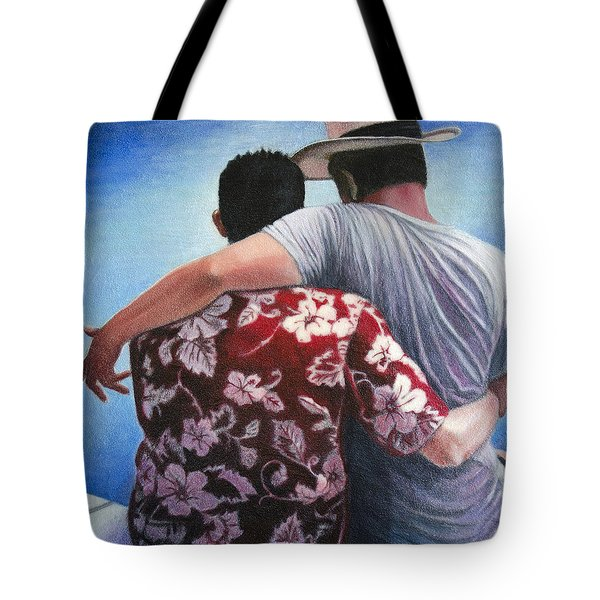 Companions Tote Bag by Ron Richard Baviello