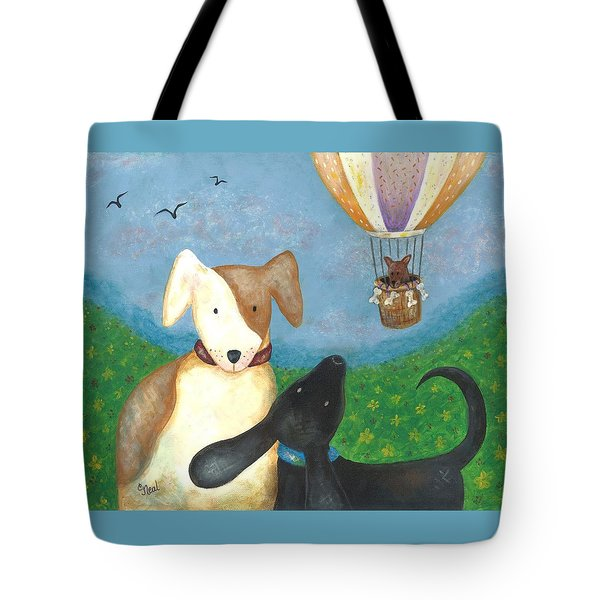 Company Coming Tote Bag