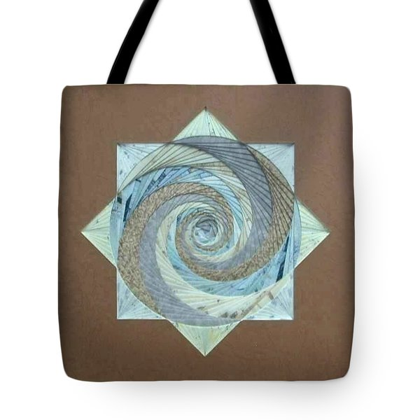 Tote Bag featuring the mixed media Compass Headings by Ron Davidson