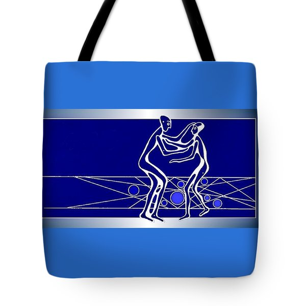 Tote Bag featuring the painting Compassion by Hartmut Jager