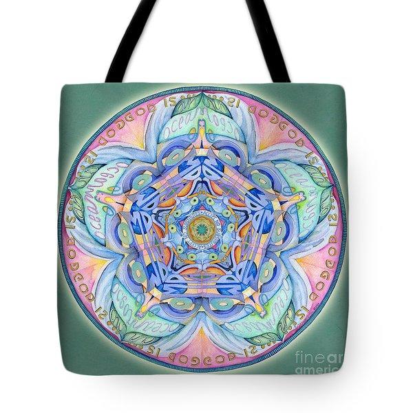 Compassion Mandala Tote Bag