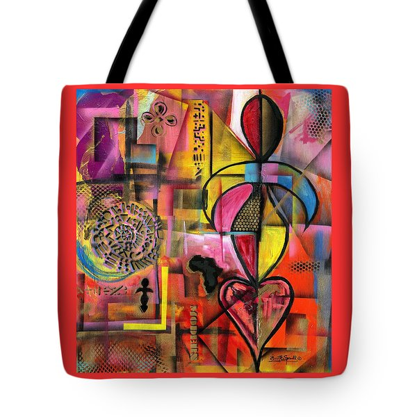 Compassionate Woman X2 Tote Bag