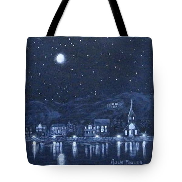 Competing Lights Tote Bag