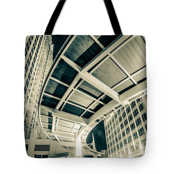 Tote Bag featuring the photograph Complex Architecture by Alex Grichenko