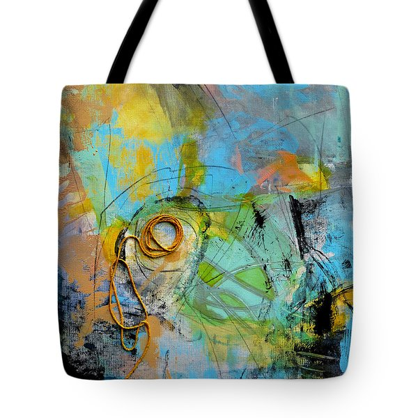 Tote Bag featuring the painting Complex by Katie Black