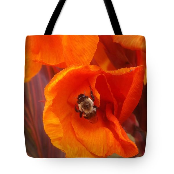 Complimenting One Another Tote Bag