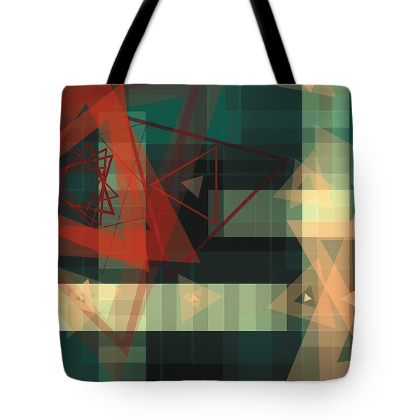 Composition 36 Tote Bag by Terry Reynoldson