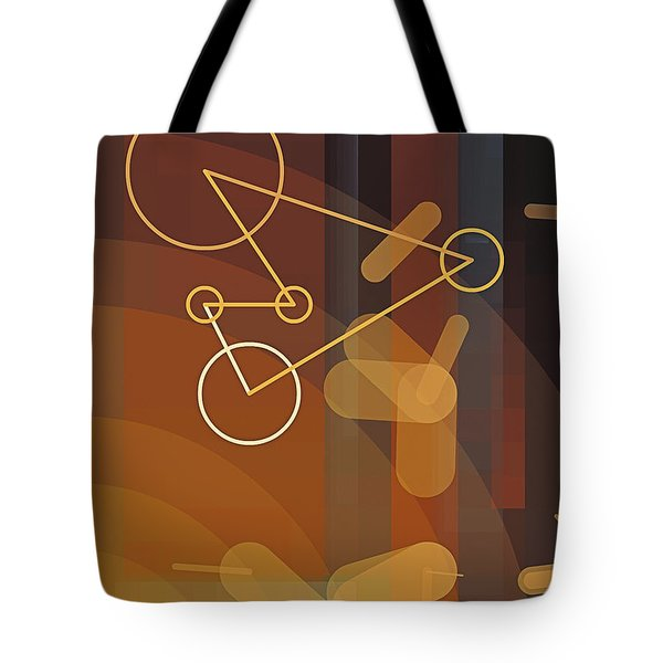 Composition 50 Tote Bag by Terry Reynoldson