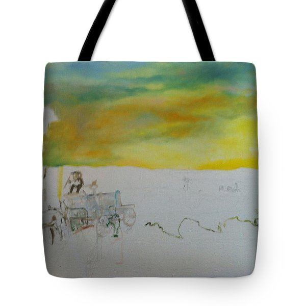 Composition Tote Bag by Mary Ellen Anderson