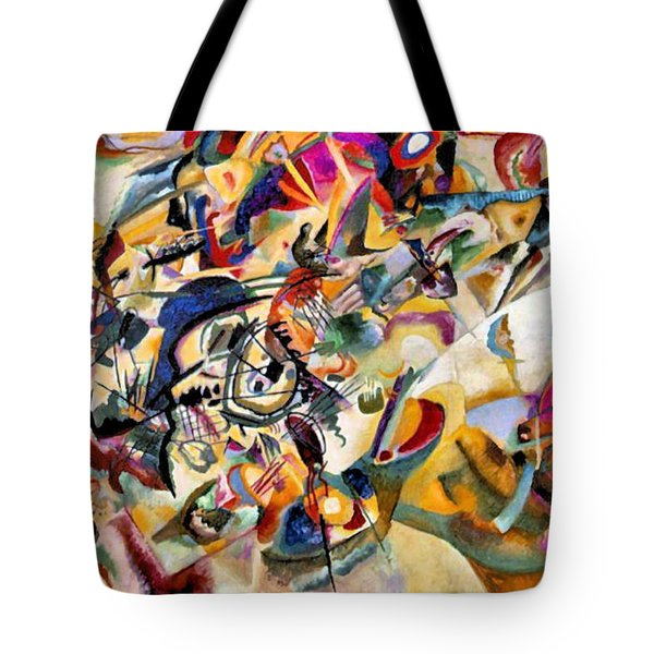 Composition Vii  Tote Bag
