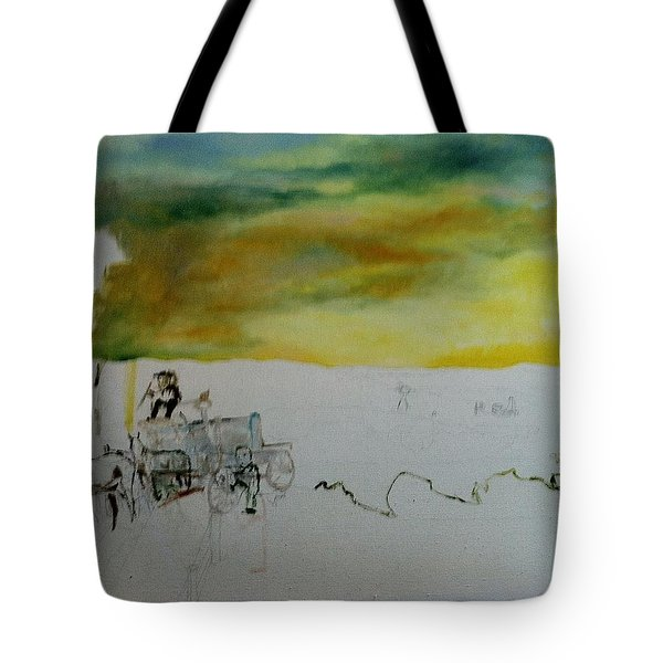 Composition2 Tote Bag by Mary Ellen Anderson