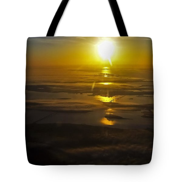 Conanicut Island And Narragansett Bay Sunrise II Tote Bag