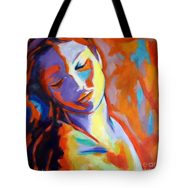 Concealed Sorrows Tote Bag by Helena Wierzbicki