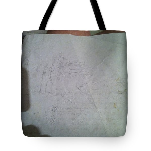 Conceptualizing - 1 Tote Bag by Mary Ellen Anderson