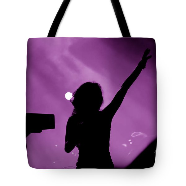 Concert Tote Bag by Michal Bednarek