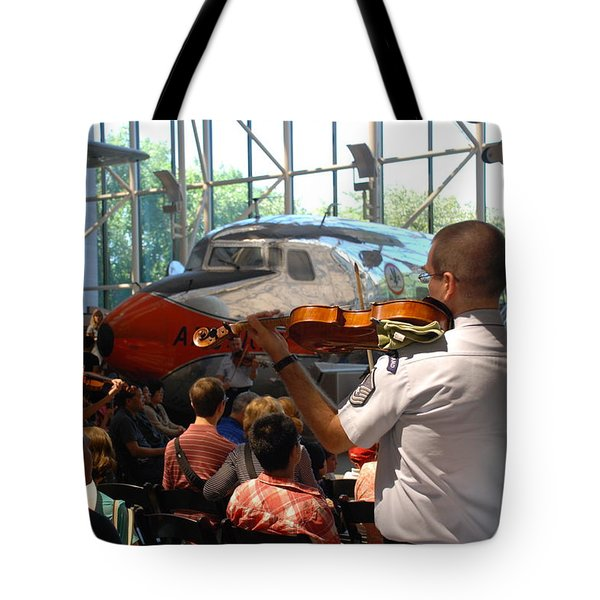Concert Under The Planes Tote Bag