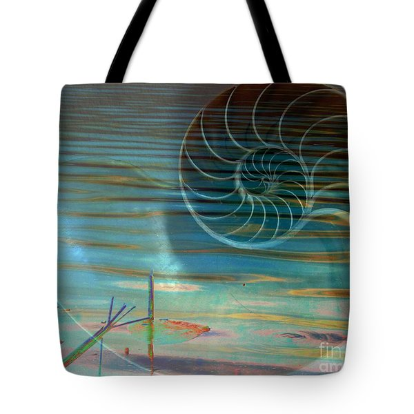 Conch Tote Bag by Irma BACKELANT GALLERIES