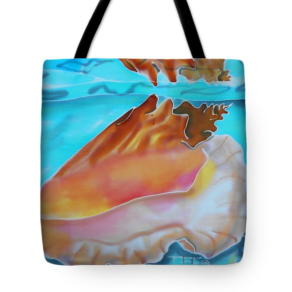 Conch Shallows Tote Bag