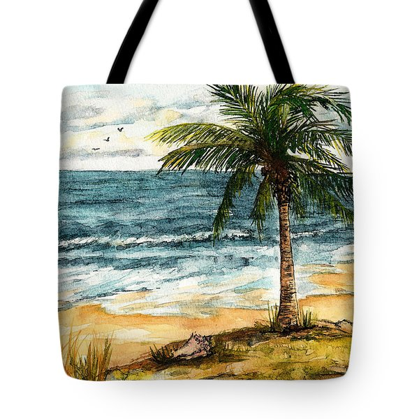 Conch Shell In The Shade Tote Bag