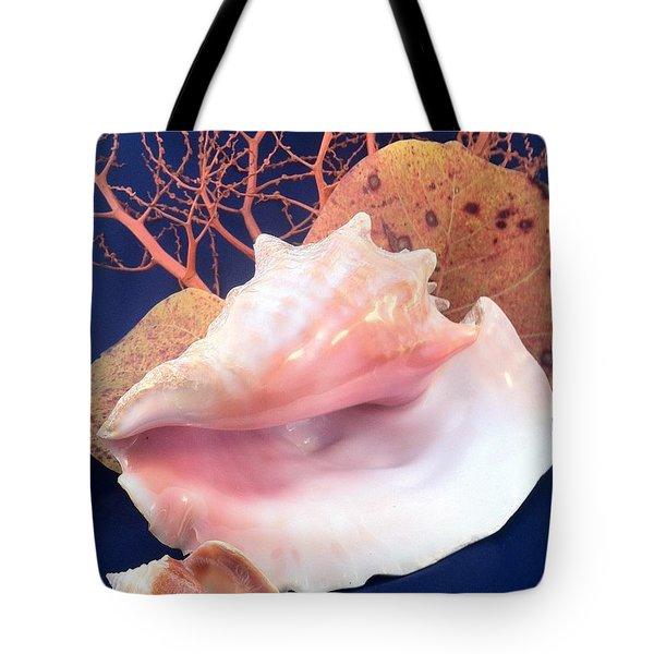 Conch Still Life Tote Bag
