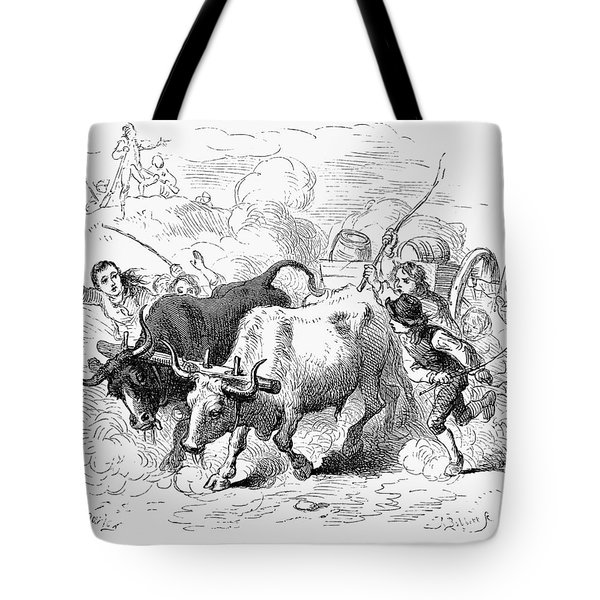 Concord: Evacuation, 1775 Tote Bag by Granger