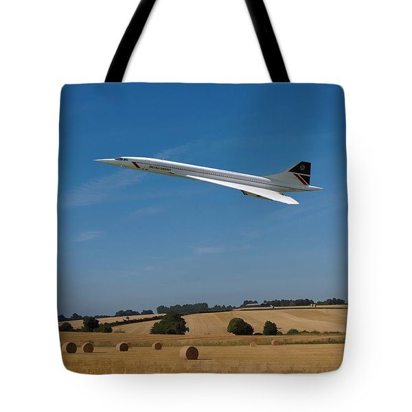 Concorde At Harvest Time Tote Bag