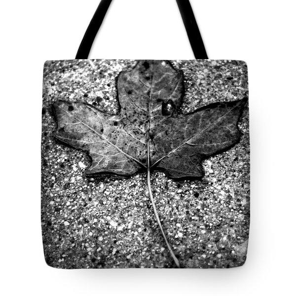 Concrete Leaf Tote Bag