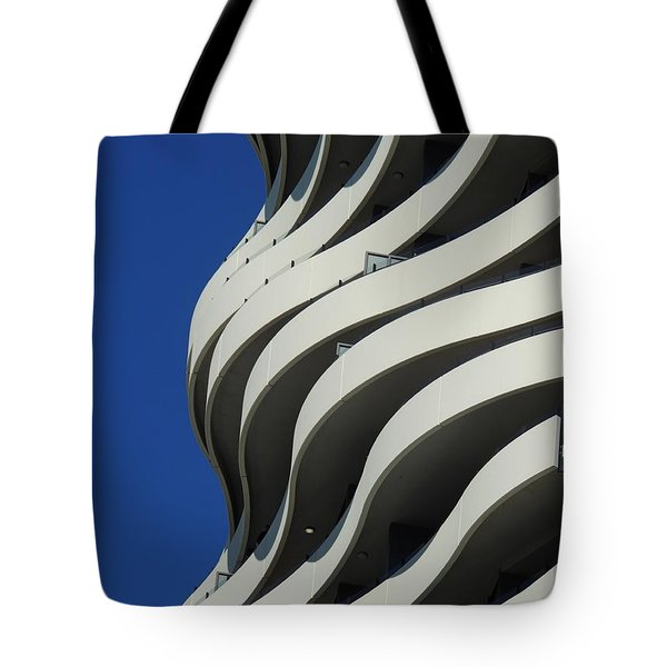Concrete Waves Tote Bag